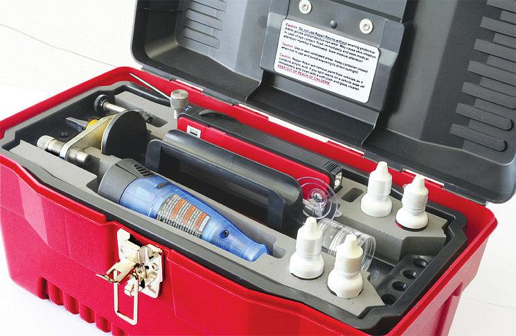 Специализированный набор Equalizer для ремонта стекол