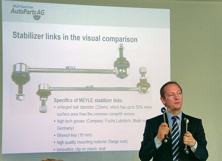 Рассказывает Свен Нильсен, технический директор Wulf Gaertner Autoparts AG
