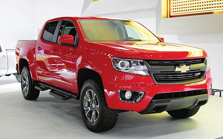 У Chevrolet Colorado ZR1 характеристики скромнее