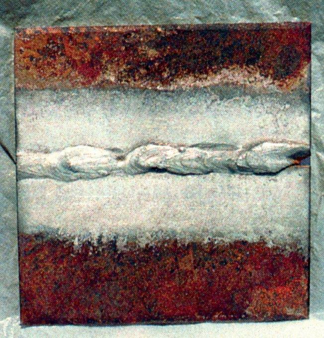 Холодным способом можно цинковать не только плоские поверхности, но и сварные швы