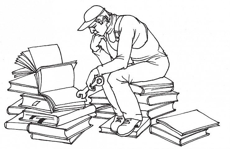 Моторный ремонт — нажмите, чтобы увеличить